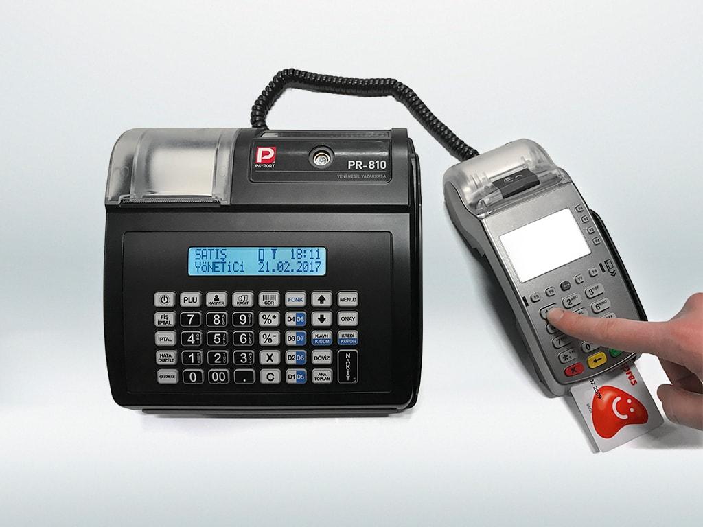 Payport PR-810 EFT-POS bağlantısı ile fiş ve slipleri tek tuş ile bastırın