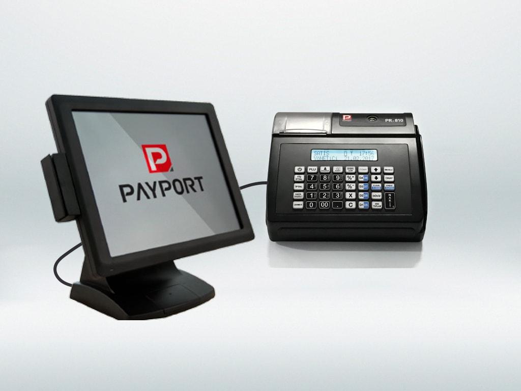 Payport PR-810 bilgisayar bağlantısı ile satış yapın plu, yükleyin, stoklarınızı takip edin